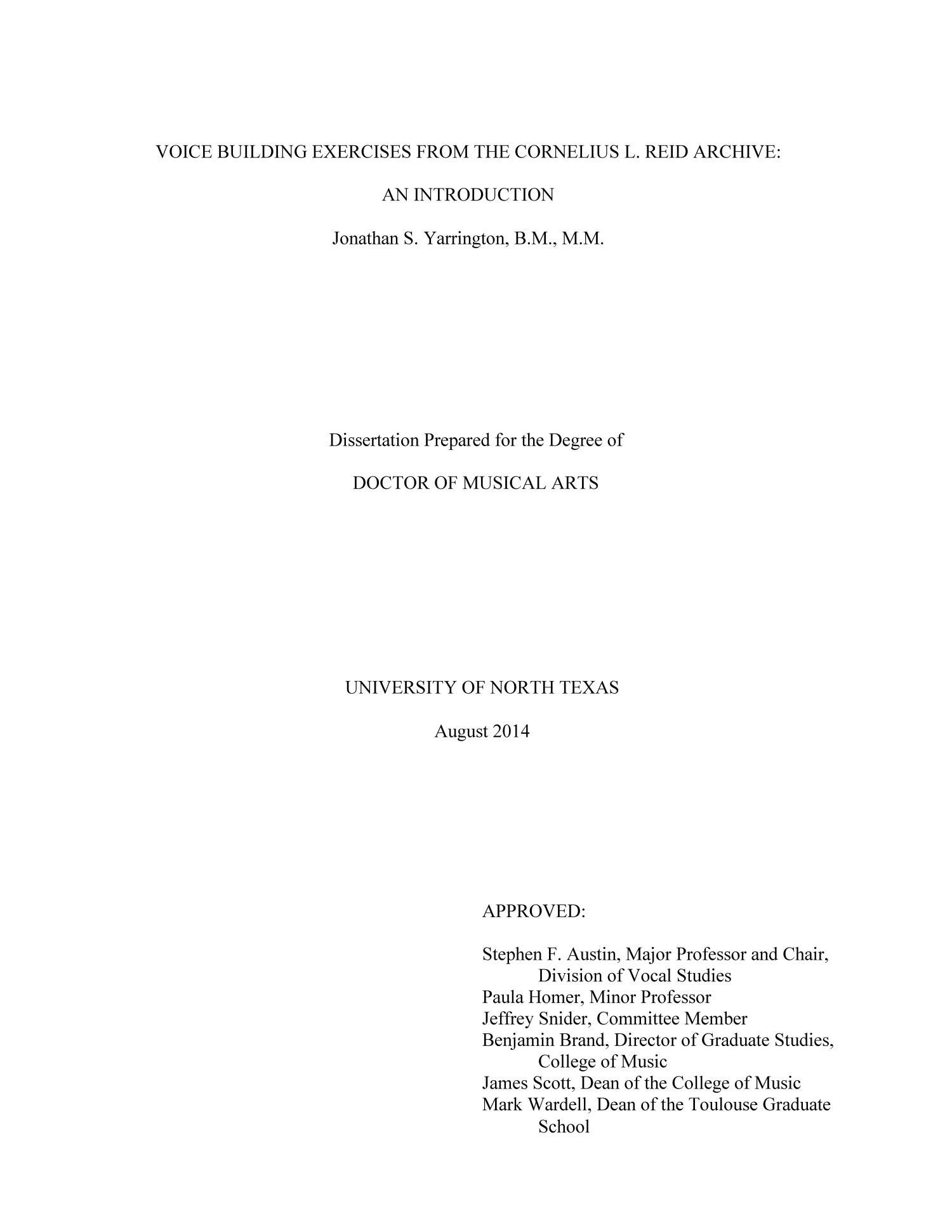Dissertation on digital library