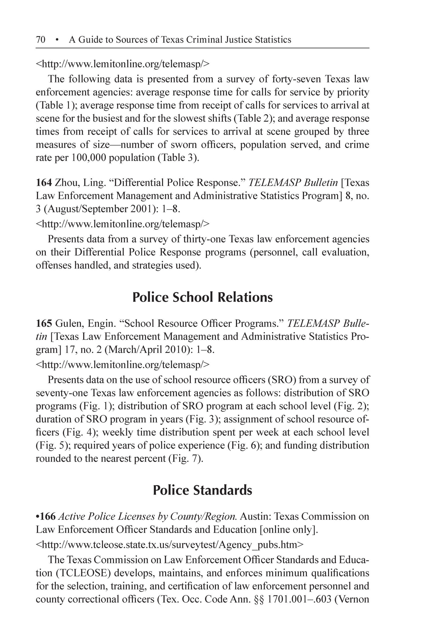 A guide to sources of texas criminal justice statistics page 70 a guide to sources of texas criminal justice statistics page 70 digital library xflitez Images