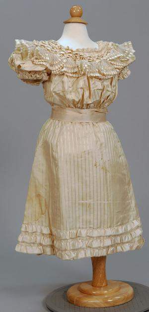 Primary view of object titled 'Girl's Fancy Dress'.
