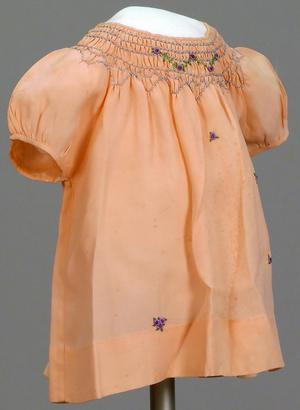Primary view of object titled 'Little Girl's Dress'.