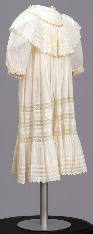Primary view of object titled 'Infant's Dress'.