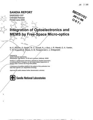 Primary view of object titled 'Integration of optoelectronics and MEMS by free-space micro-optics'.