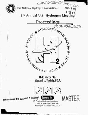 Primary view of object titled '8. annual U.S. hydrogen meeting: Proceedings'.