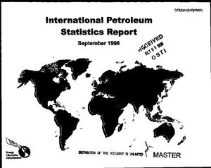 Primary view of object titled 'International petroleum statistics report, September 1998'.