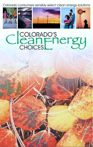 Primary view of object titled 'Colorado's clean energy choices'.