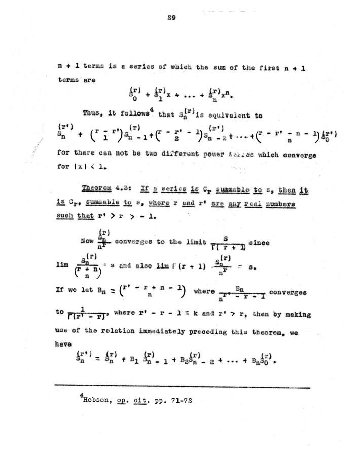 Properties of infinite series.?