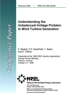 Primary view of object titled 'Understanding the unbalanced-voltage problem in wind turbine generation'.