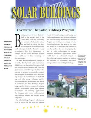 Primary view of object titled 'Solar buildings. Overview: The Solar Buildings Program'.