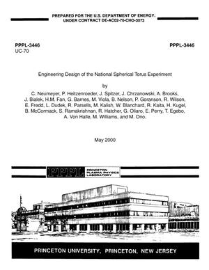 Primary view of object titled 'Engineering design of the National Spherical Torus Experiment'.