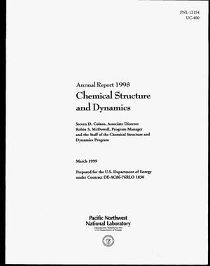 Primary view of object titled 'Annual Report 1998: Chemical Structure and Dynamics'.