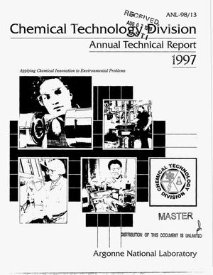 Primary view of object titled 'Chemical Technology Division annual technical report 1997'.