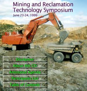 Primary view of object titled 'Mining and Reclamation Technology Symposium'.