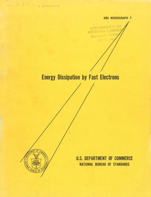 Primary view of object titled 'Energy Dissipation by Fast Electrons'.