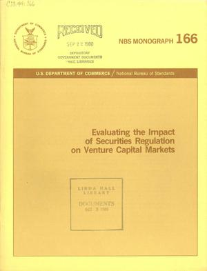 Evaluating the Impact of Securities Regulation on Venture Capital Markets