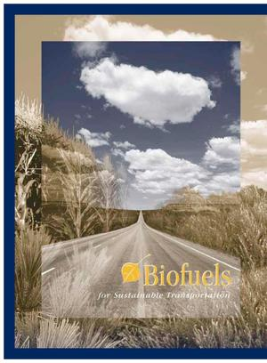 Primary view of object titled 'Biofuels for sustainable transportation'.