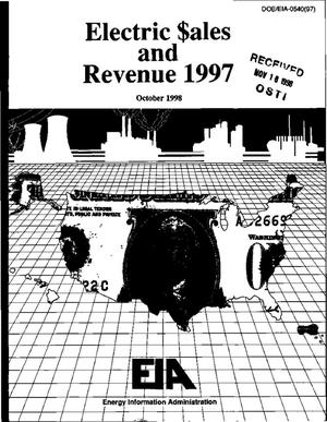 Primary view of object titled 'Electric sales and revenue 1997'.