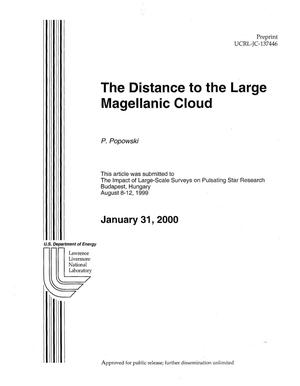 Primary view of object titled 'The Distance to the Large Magellanic Cloud'.