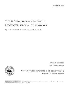 The Proton Nuclear Magnetic Resonance Spectra of Pyridines