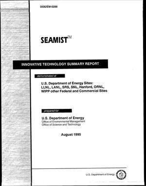 Primary view of object titled 'SEAMIST{trademark}'.