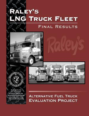 Primary view of object titled 'Raley's LNG Truck Fleet: Final Results'.