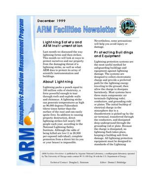 Primary view of object titled 'Atmospheric Radiation Measurement Program facilities newsletter, December 1999'.