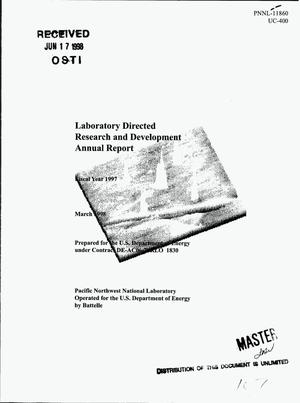 Primary view of object titled 'Laboratory Directed Research and Development annual report, fiscal year 1997'.