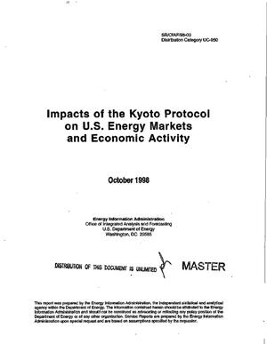 Primary view of object titled 'Impacts of the Kyoto protocol on U.S. energy markets and economic activity'.