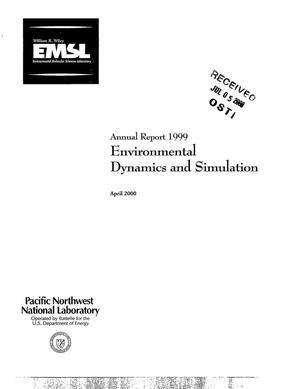 Primary view of object titled 'Annual Report 1999 Environmental Dynamics and Simulation'.