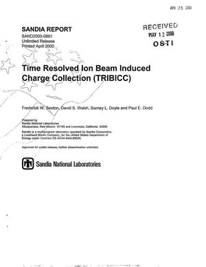 Primary view of object titled 'Time resolved ion beam induced charge collection'.