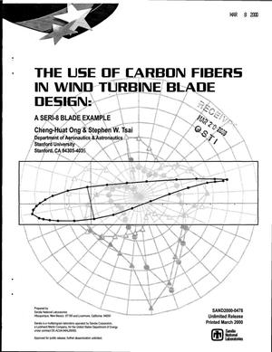 Primary view of object titled 'The use of carbon fibers in wind turbine blade design: A SERI-8 blade example'.