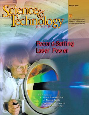 Primary view of object titled 'Science and Technology Review March 2000'.
