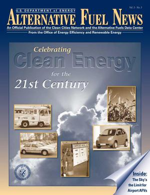 Primary view of object titled 'Alternative Fuel News, Vol. 3 No. 3'.