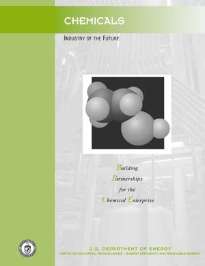 Primary view of object titled 'Chemicals: Industry of the future: Office of Industrial Technologies brochure'.