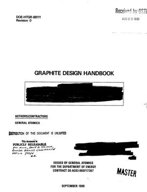 Primary view of object titled 'Graphite design handbook'.