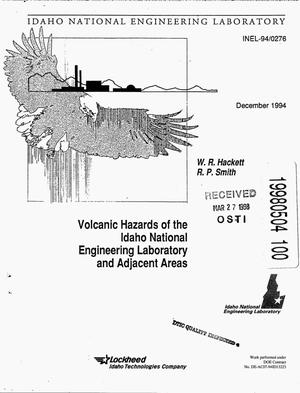Primary view of object titled 'Volcanic hazards of the Idaho National Engineering Laboratory and adjacent areas'.
