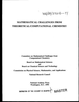Primary view of object titled 'Mathematical challenges from theoretical/computational chemistry'.