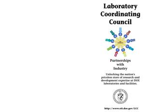 Primary view of object titled 'Laboratory Coordinating Council'.