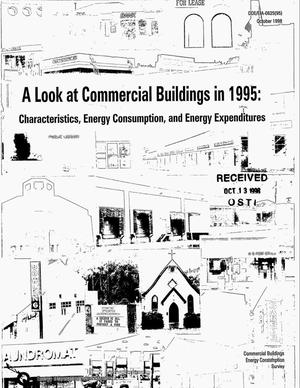 Primary view of object titled 'A look at commercial buildings in 1995: Characteristics, energy consumption, and energy expenditures'.