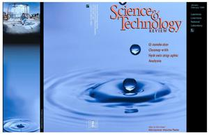 Primary view of object titled 'Science & Technology Review, January/February 1996'.