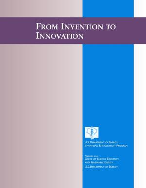 Primary view of object titled 'From Invention to Innovation'.
