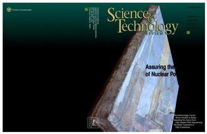 Primary view of object titled 'Science and technology review, July/August 1997'.