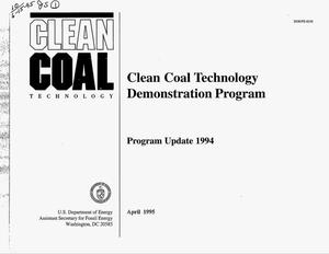 Primary view of object titled 'Clean Coal Technology Demonstration Program. Program update 1994'.