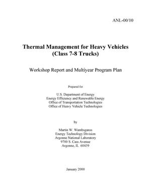 Primary view of object titled 'Thermal management for heavy vehicles (Class 7-8 trucks)'.