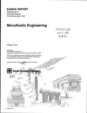 Primary view of object titled 'Microfluidic Engineering'.