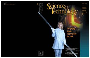 Primary view of object titled 'Science and technology review, March 1998'.
