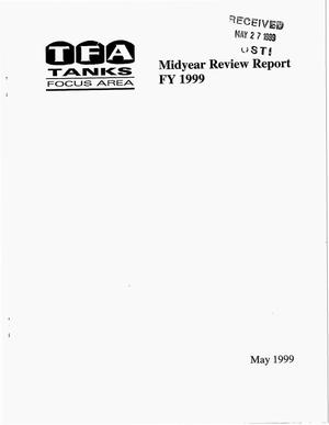 Primary view of object titled 'TFA Tanks Focus Area Midyear Review Report FY 1999'.