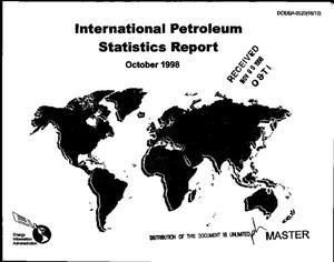 Primary view of object titled 'International petroleum statistics report, October 1998'.