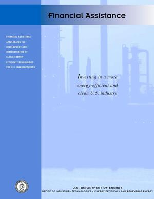 Primary view of object titled 'Office of Industrial Technologies (OIT) Financial Assistance Brochure'.