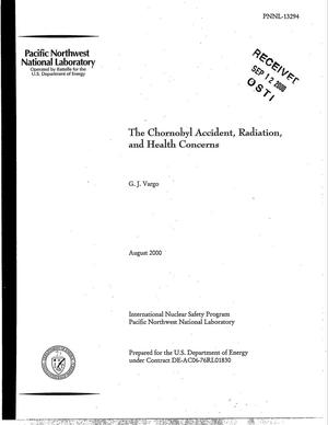 Primary view of object titled 'The Chornobyl Accident, Radiation, and Health Concerns'.