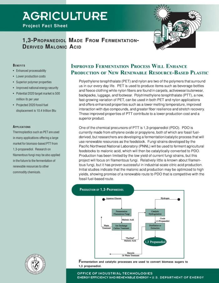 1 3 propanediol pdo market for polytrimethylene